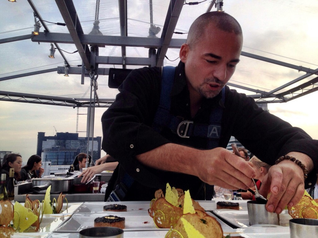London in the Sky - Chef Xavier Boyer