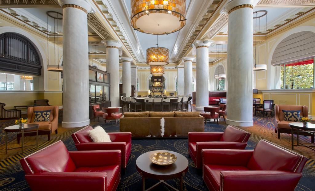 Hotel ICON - The lobby