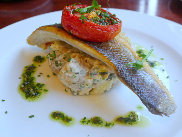 Cafe No 8 - Sea bass