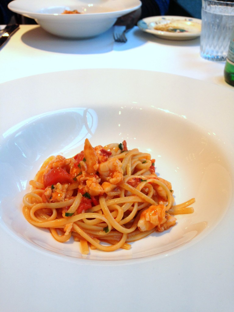 Frescobaldi - Lobster linguini