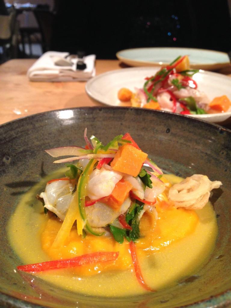 Pachamama – Chilled prawn ceviche