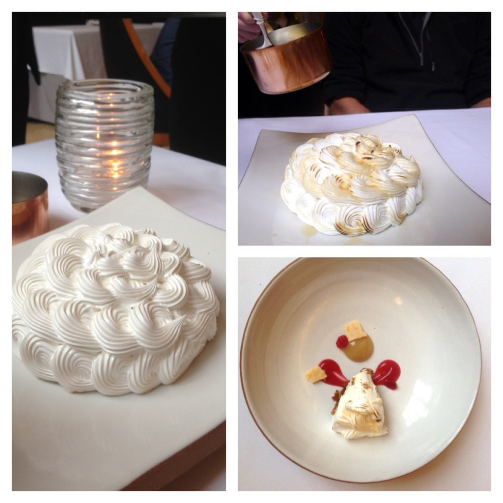 Eleven Madison Park - Baked & flamed Alaska