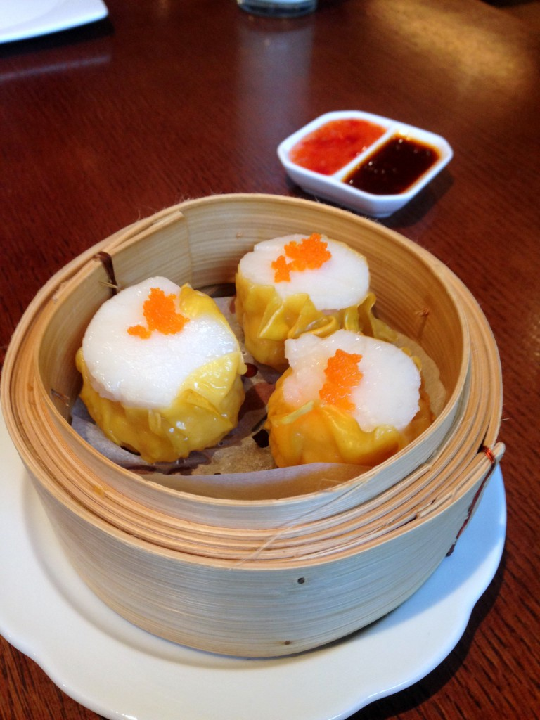 Chinese Cricket Club - Scallop & prawn siu mai