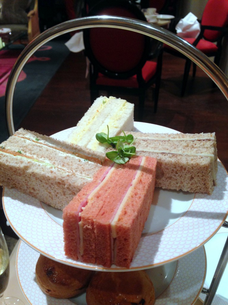 The Rose Lounge Sofitel St James - The sandwiches