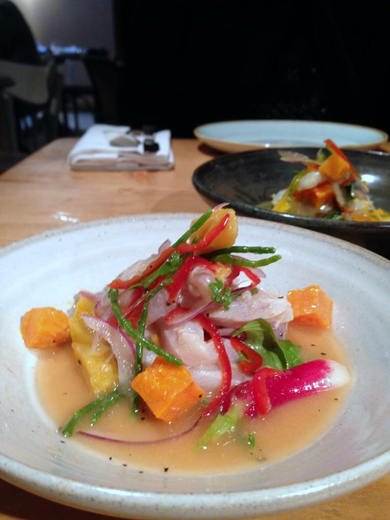 Pachamama – Sea bass ceviche