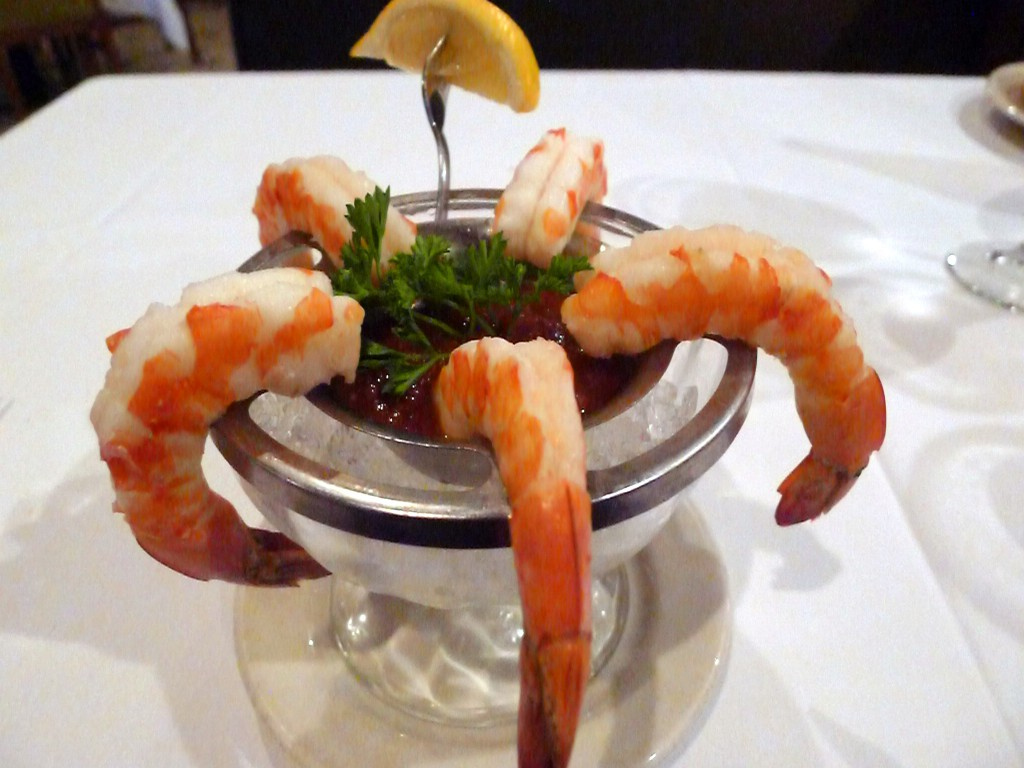 Sullivan's Steakhouse - Shrimp cocktail