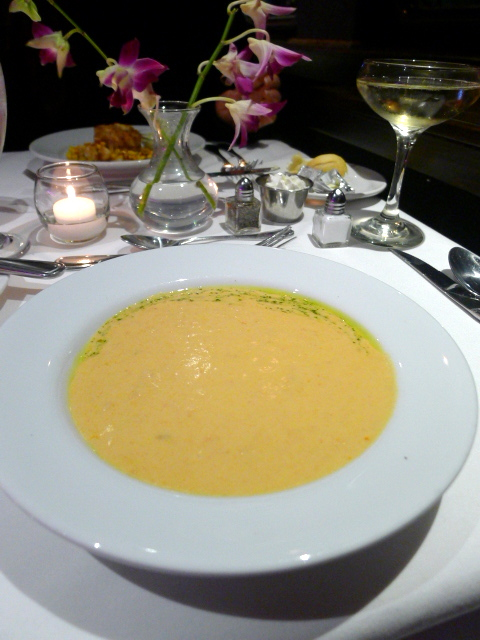 Odyssey Cruises - Lobster bisque