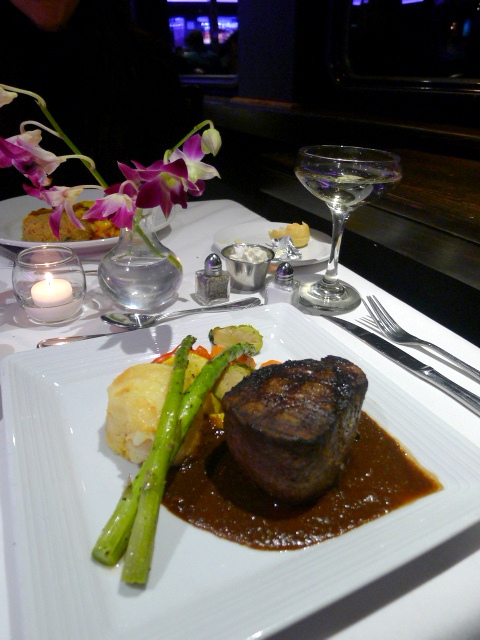 Odyssey Cruises - Filet mignon