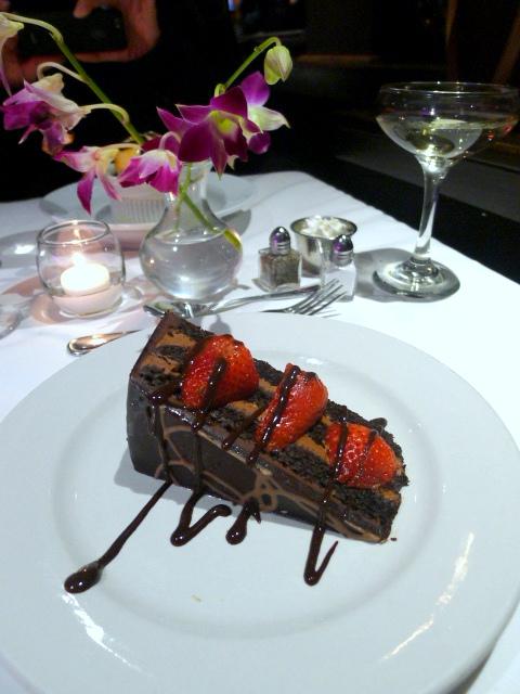 Odyssey Cruises - Chocolate cake