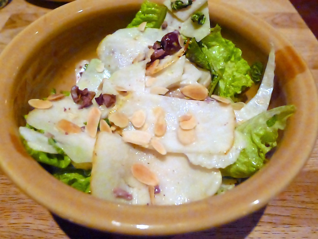 Girl and the Goat - Kohlrabi salad