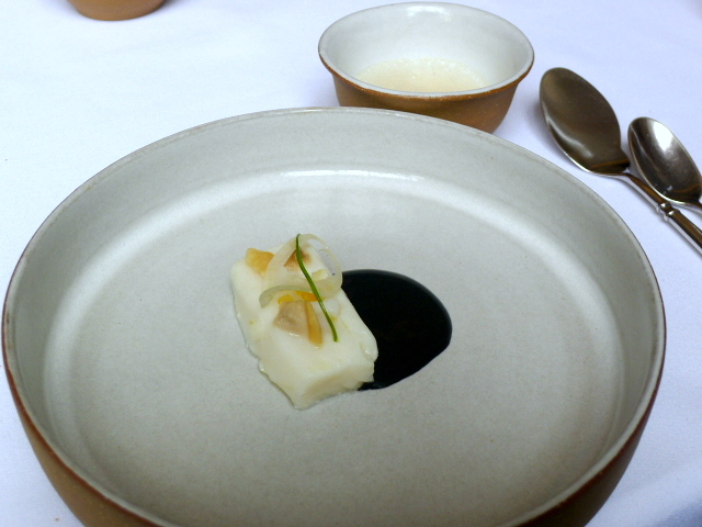 Eleven Madison Park - Atlantic halibut