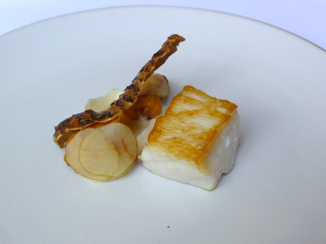 Eleven Madison Park - Striped bass