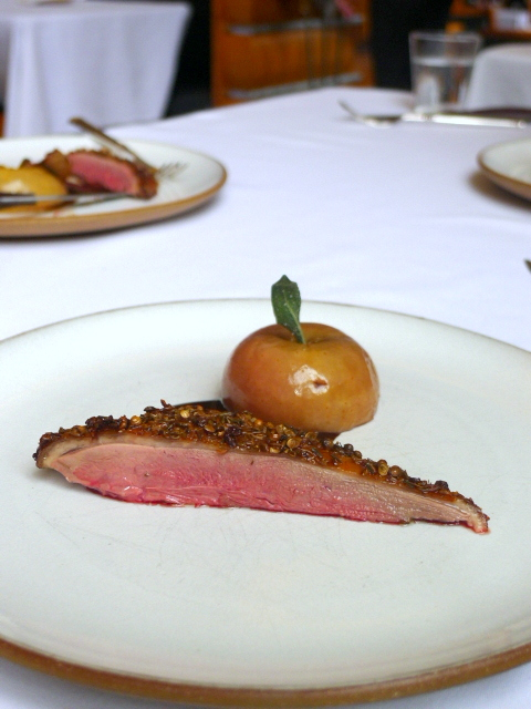 Eleven Madison Park - Duck & apple