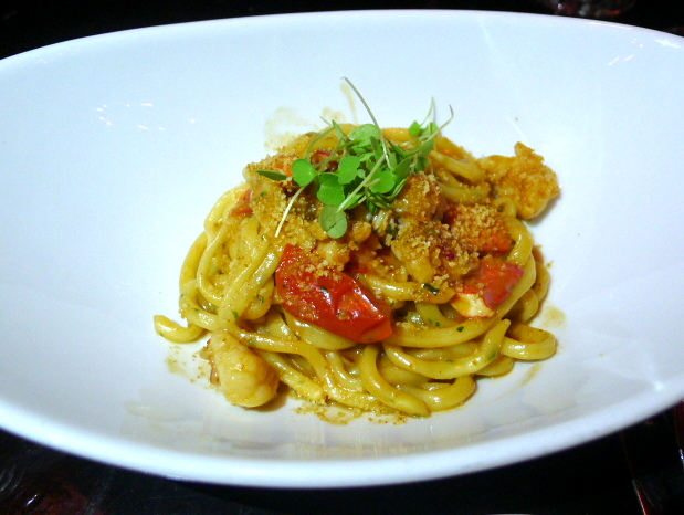 A Voce - Pasta with lobster