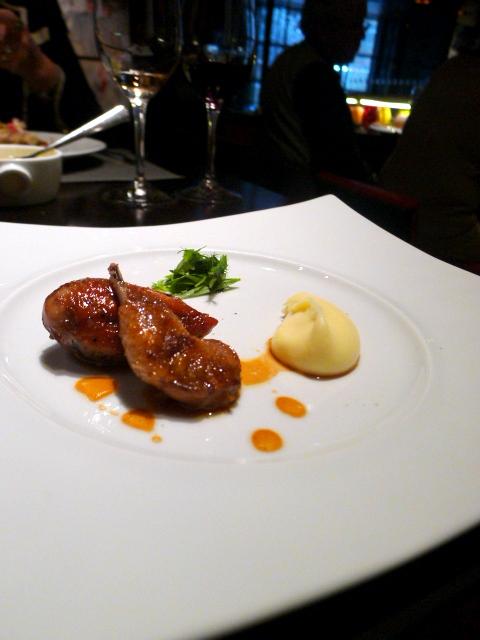 L'Atelier de Joël Robuchon - Roasted quail