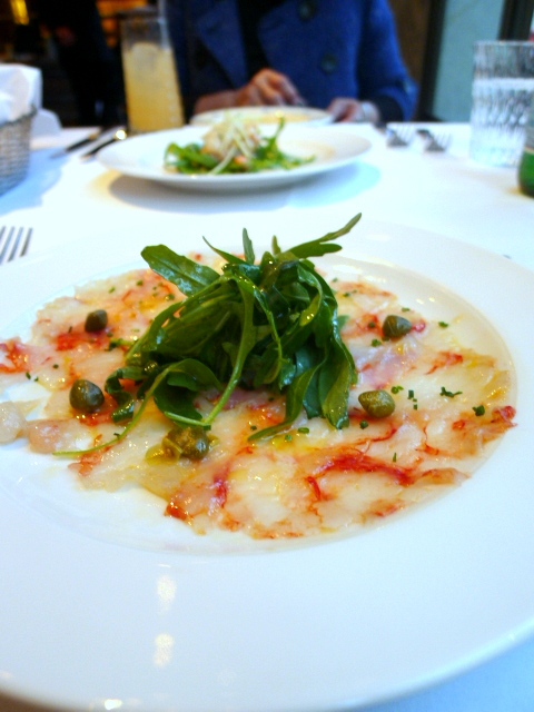 Frescobaldi - Red prawns carpaccio