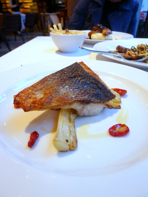 Frescobaldi Restaurant - Roasted sea bass