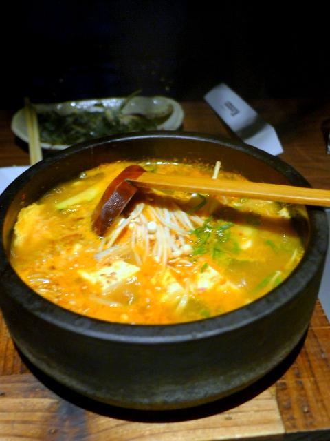 Kintan - Tofu chigae soup