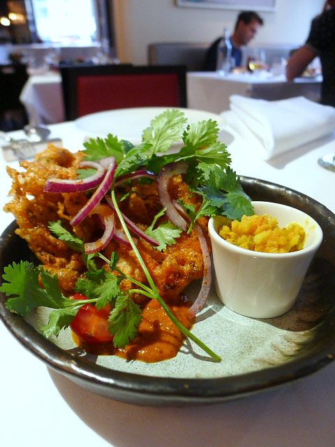 Moti Mahal - Soft shell crab