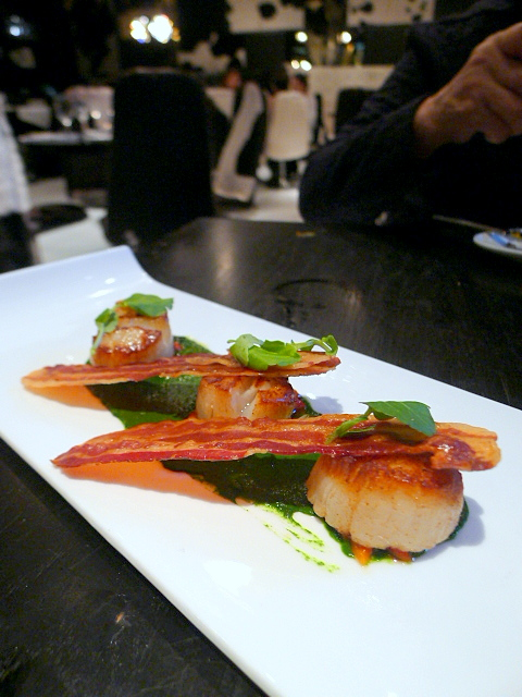 Gaucho - Scallops with pancetta