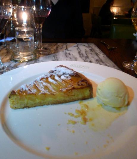 Boulestin - Pear & almond tart