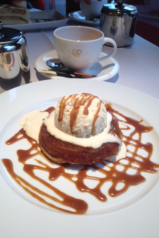 Chez Boubier - Apple tarte tatin
