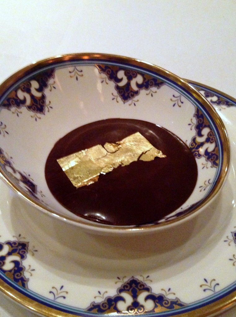 Ciragan Palace Kempinski Istanbul - Dark chocolate pudding
