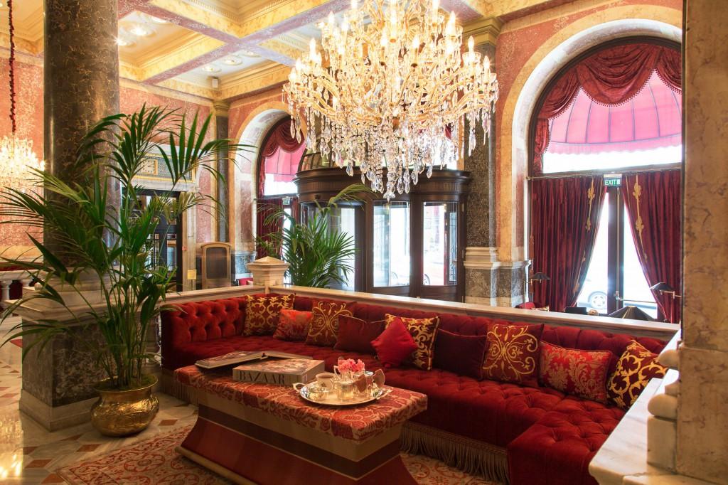 Pera Palace Hotel - Lobby