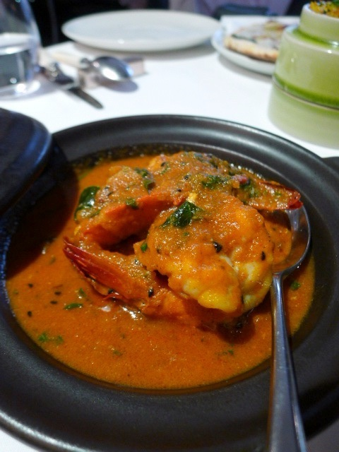 Moti Mahal - Prawn curry