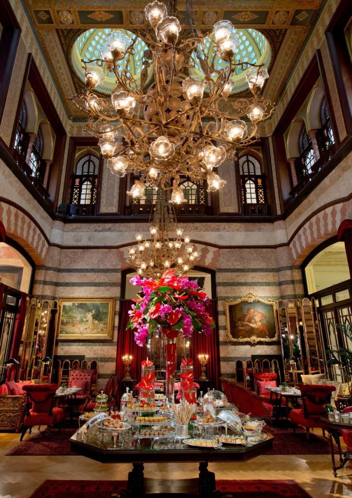 Pera Palace Hotel - Tea Time