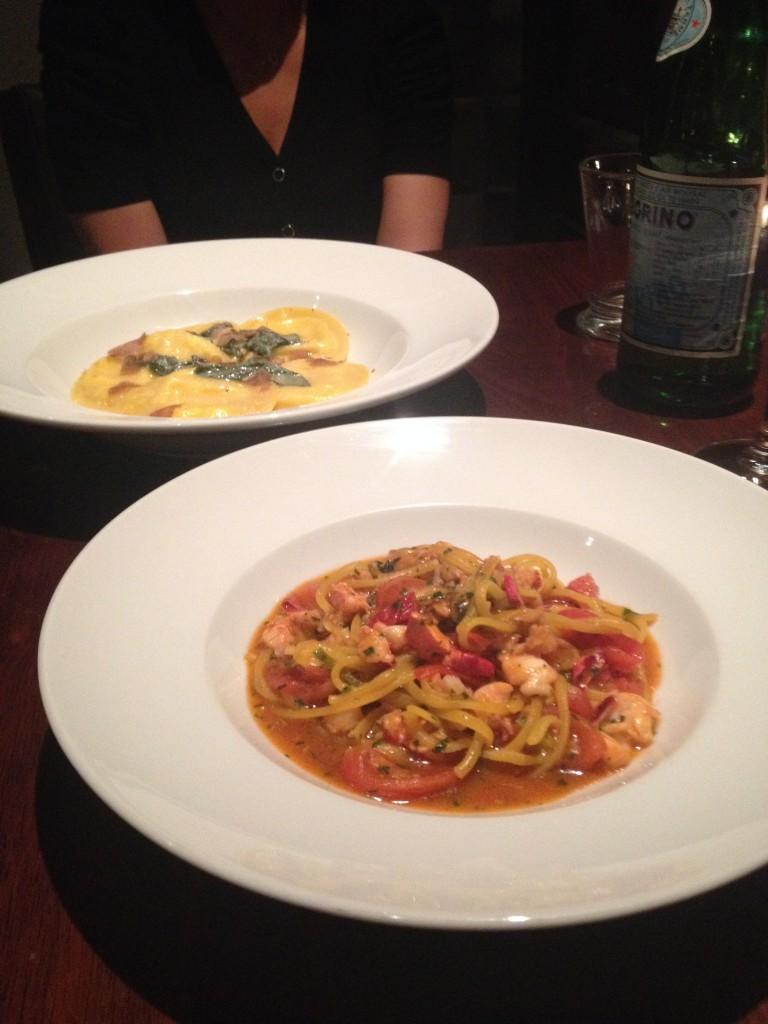 Diciannove - Spaghettini all'astice - Fresh lobster, pigato, thyme and fresh tomato