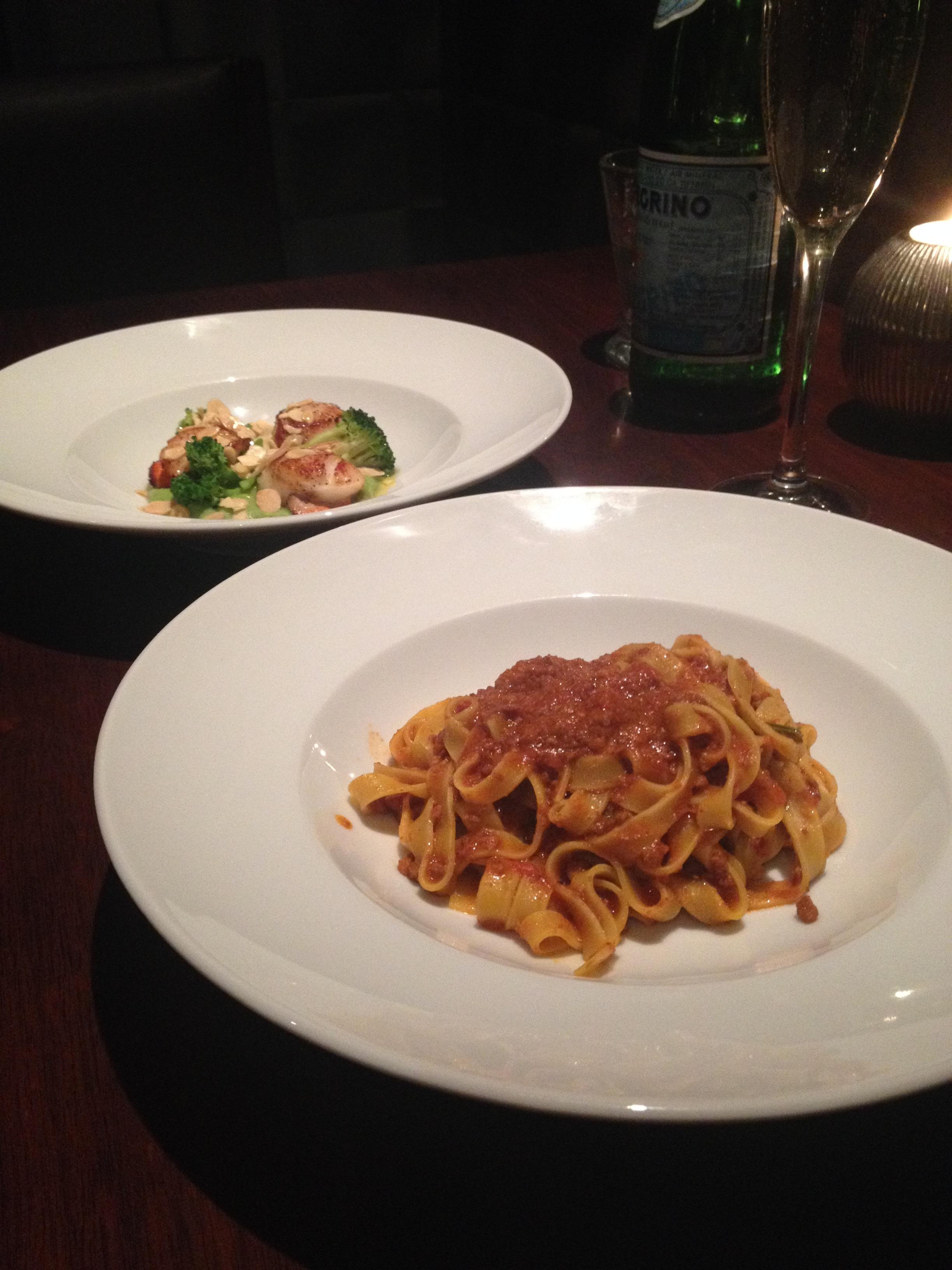 Diciannove – Tagliatelle al ragu with beef and pork ragout
