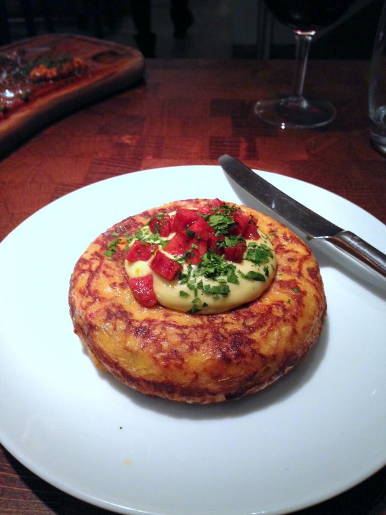 Fino - Chorizo & alioli tortilla