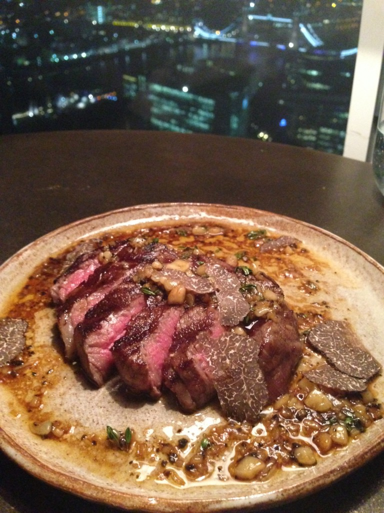 Oblix - Wagyu with truffle