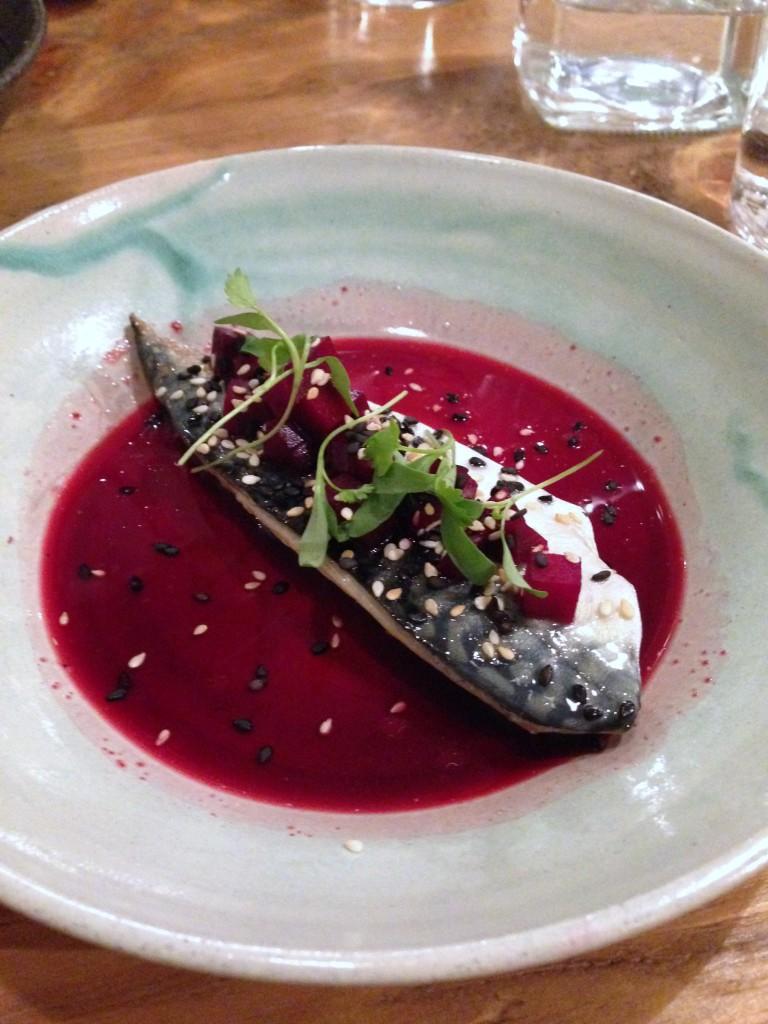Pachamama - Charred mackerel