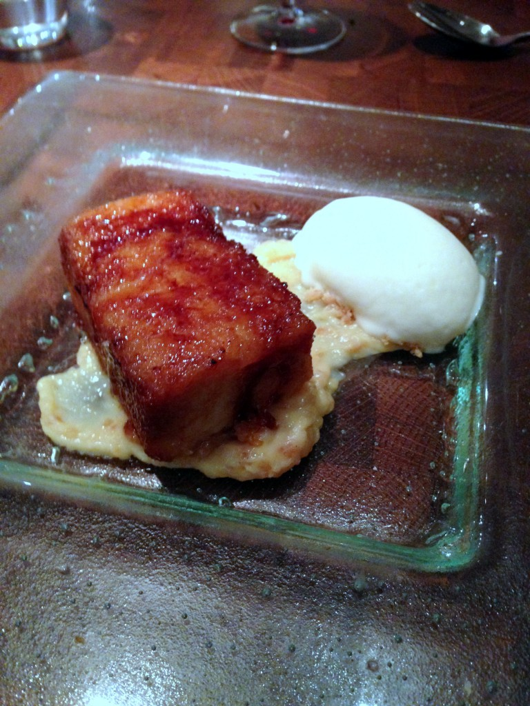 Fino - 'Torrijas' bread pudding