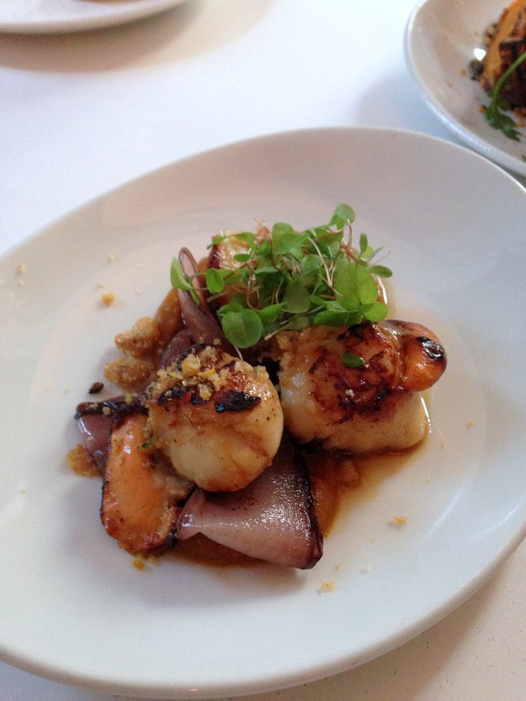 Nopi - Seared scallops