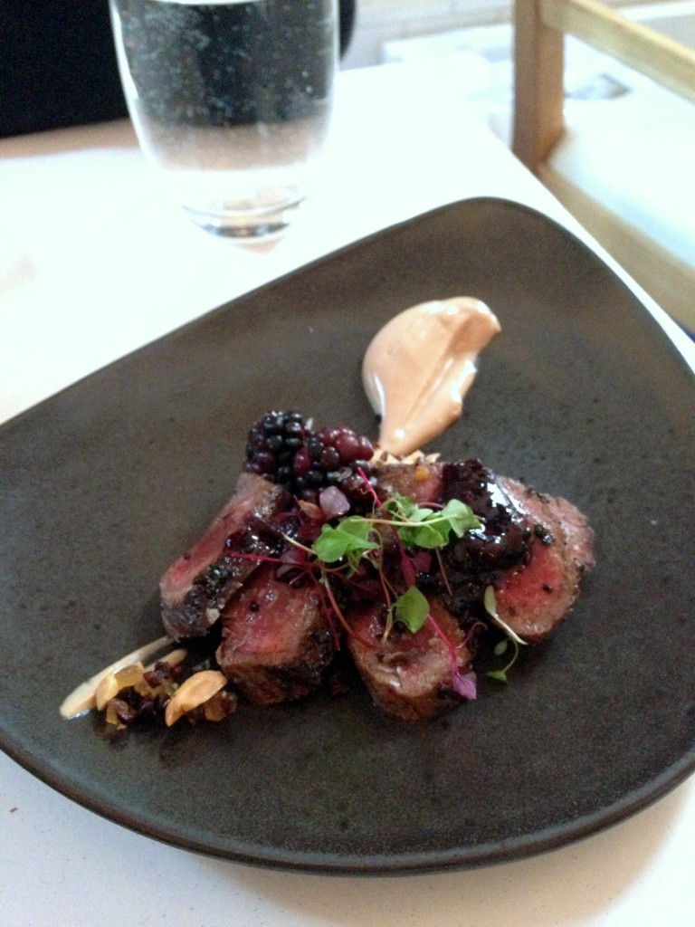 Nopi - Venison with caramelised yoghurt
