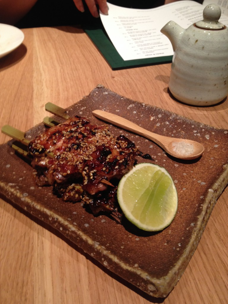 Roka - spiced chicken wings with salt and lime