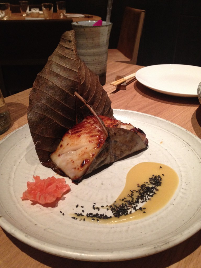 Roka - black cod marinated in yuzu miso