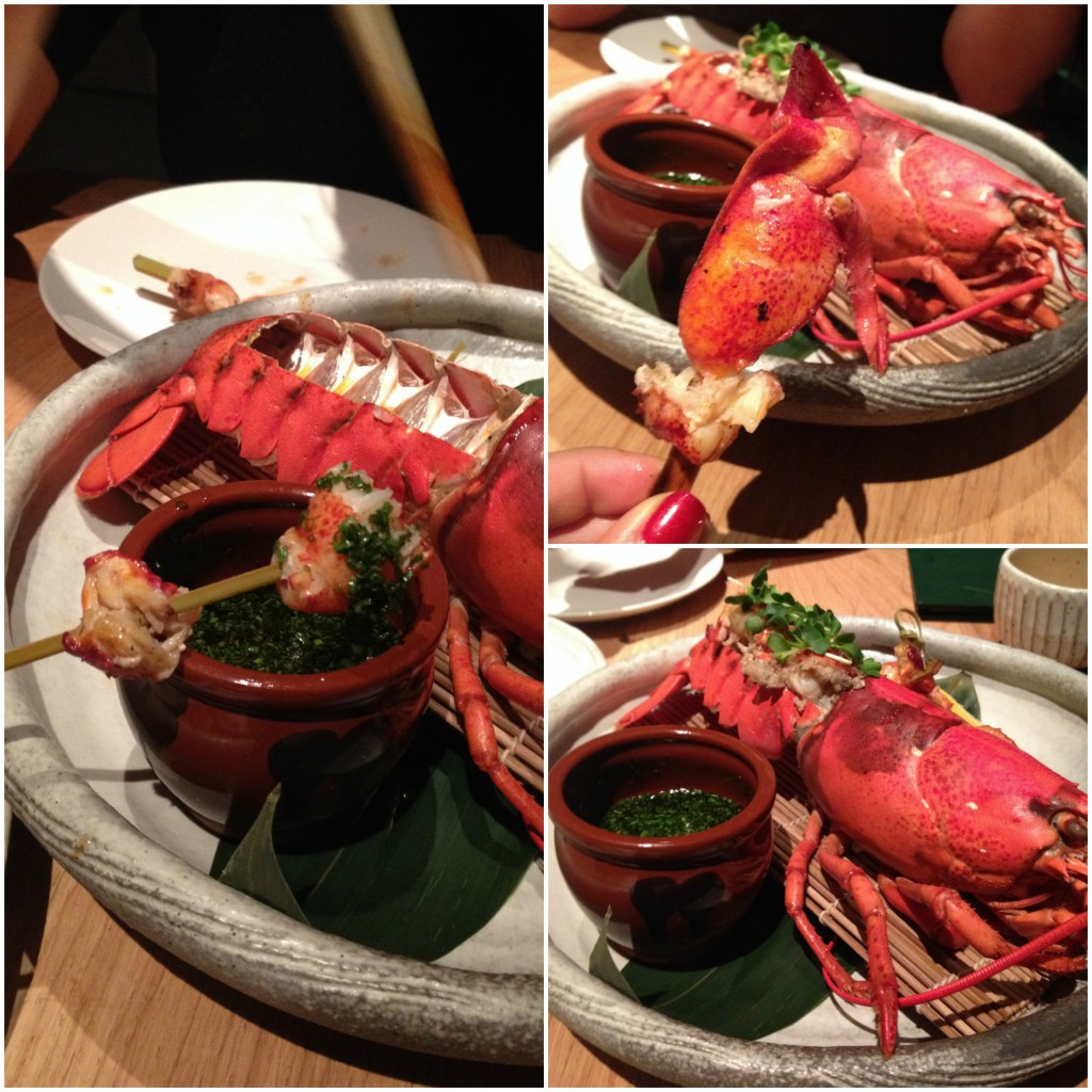 Roka - whole lobster with ponzu and umami dressing