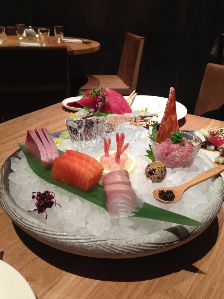 5-piece sashimi selection