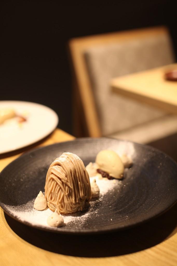 Kouzu - tart au mont blank (chestnut tart)
