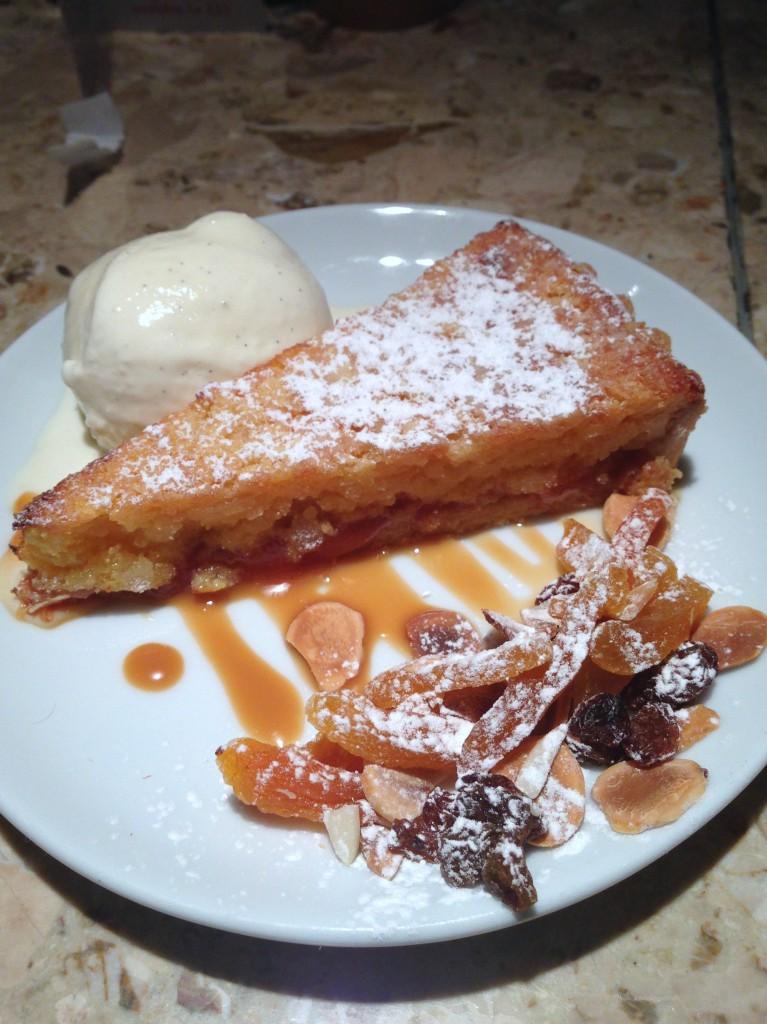 Barrafina Frith Street - Santiago tart
