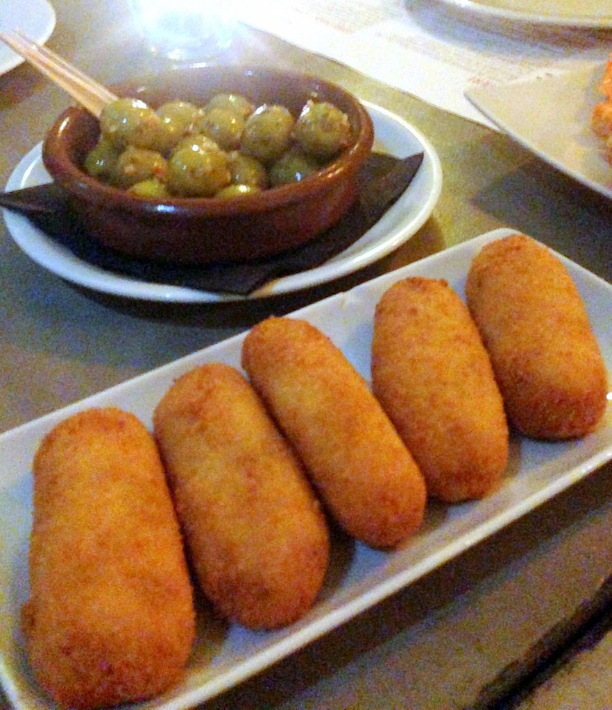 London food blog Boqueria - Croquetas
