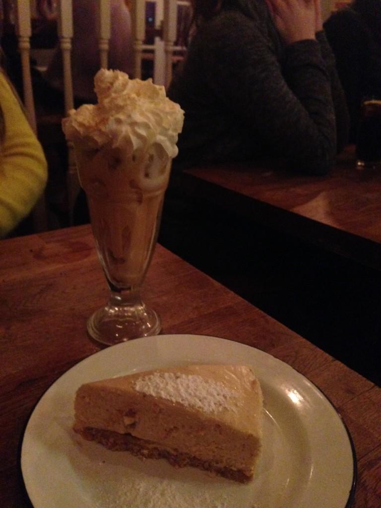 Porky's - Peanut Butter & Jelly Cheesecake & Banoffee Pie Sundae