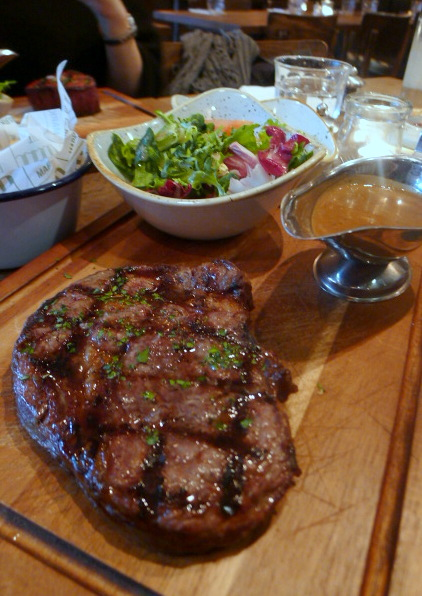 World's End Market - London Food Blog - Rib-eye