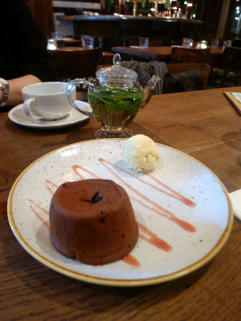 World's End Market - London Food Blog - Chocolate fondant