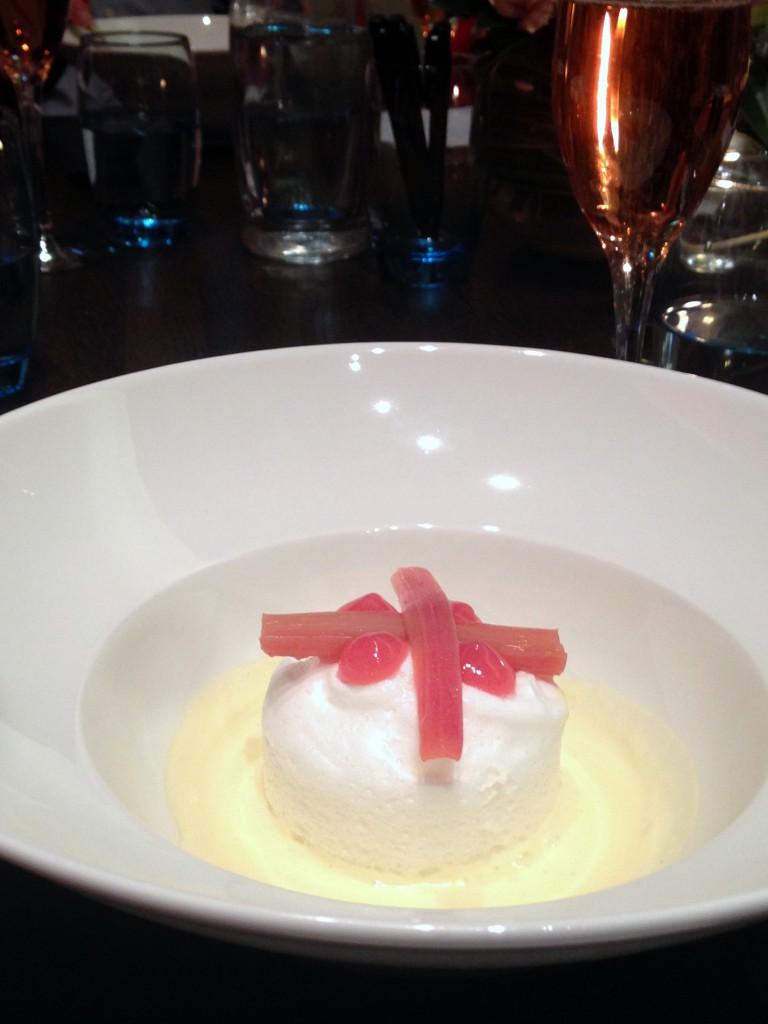 Rotunda - London Food Blog - Floating island