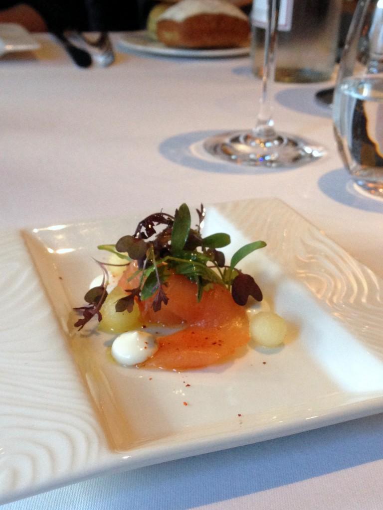 New Angel – London Food Blog – Salmon gravalax